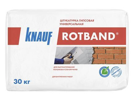 Штукатурка Ротбанд Кнауф (30кг)